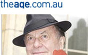 """""""Barry Humphries gets his teeth into art deco beauty"""" – Suzanne Carbone"""