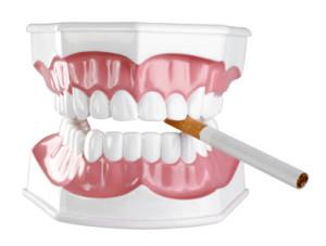 smoking teeth and gums