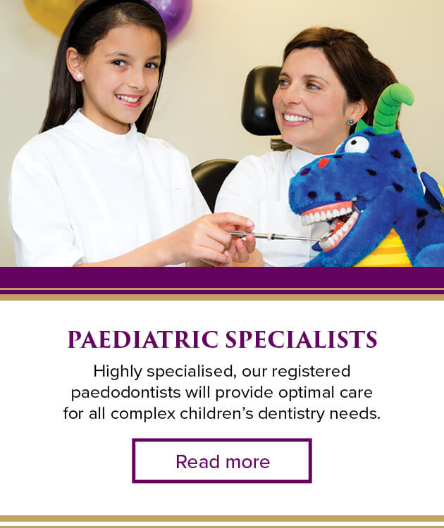 Paediatric Childrens Dentist Melbourne